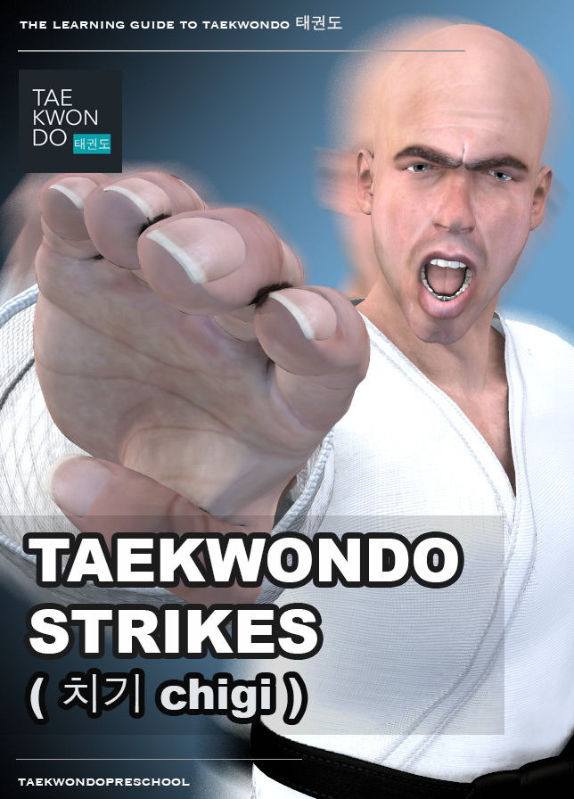 Strikes ( 치기 chigi ) - Taekwondo Preschool iBook version