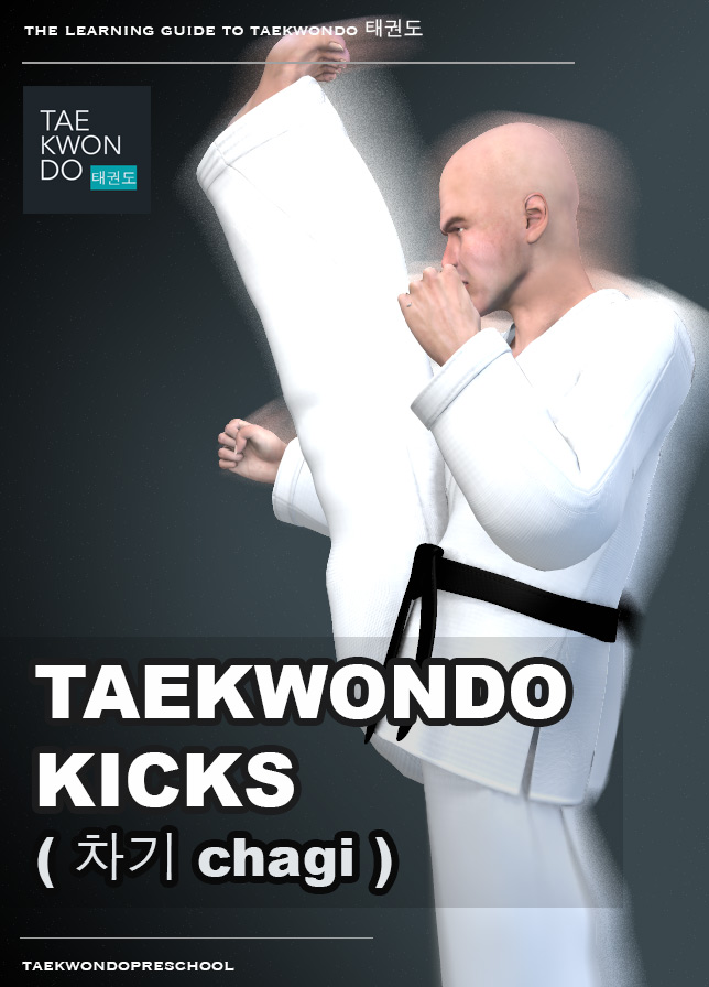 Kicking ( 차기 chagi ) - Taekwondo Preschool iBook version