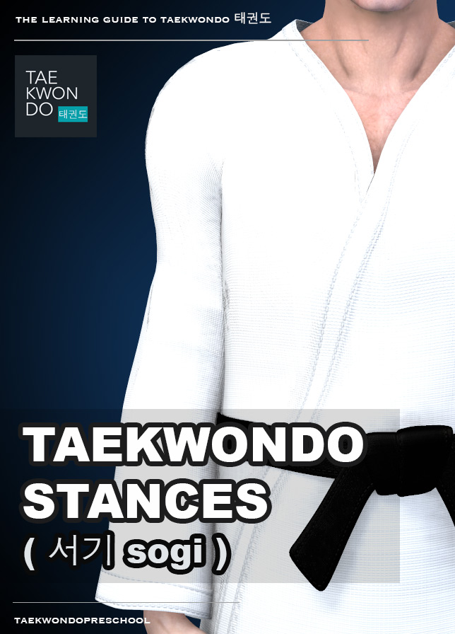 Stances ( 서기 sogi ) - Taekwondo Preschool iBook version