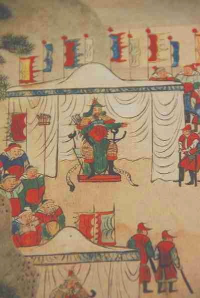 General Yun Gwan (1040 - 1111) and his army